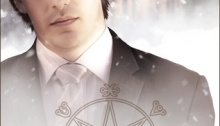 Widdershins bookcover. Young man in historical clothing.