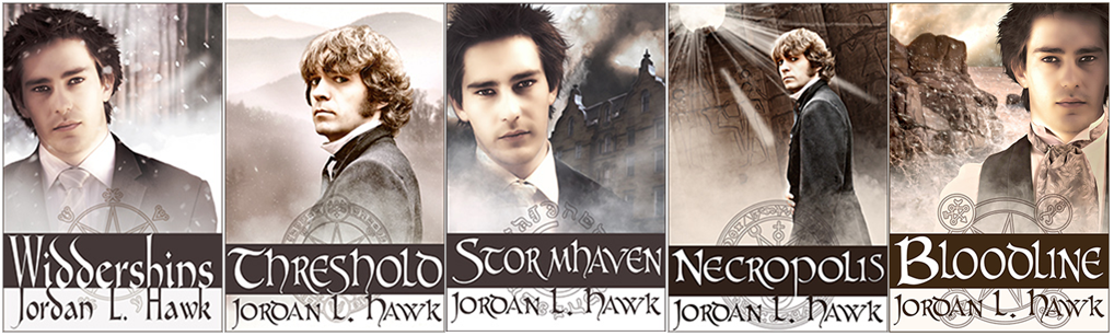 Whyborne & Griffin series 1-6  - Jordan L. Hawk