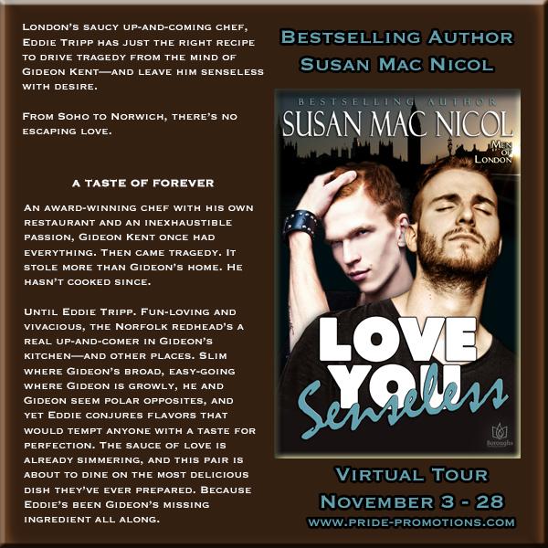 Blog Tour: Love You Senseless (Men of London #1) by Susan Mac Nicol