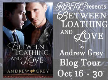 Between Loathing and Love Blog Tour Banner